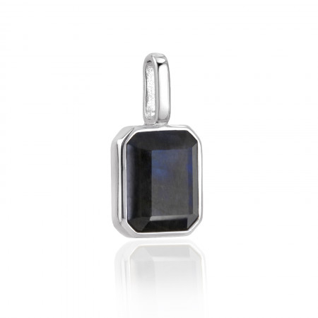Miracle Stone Collection Labradorit Square 925 Sterlingsilber Test