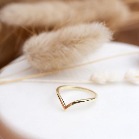 Ring Tessa aus 925 Sterlingsilber 14K vergoldet Test