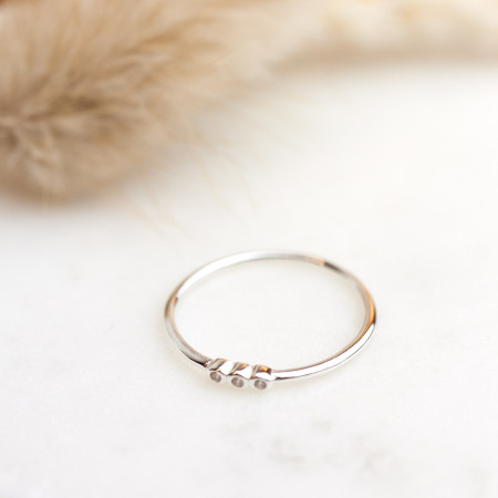 Ring Tiny Dots 925 Sterlingsilber Test
