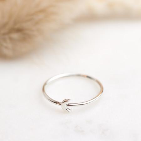 Ring Tiny Moon 925 Sterlingsilber Test