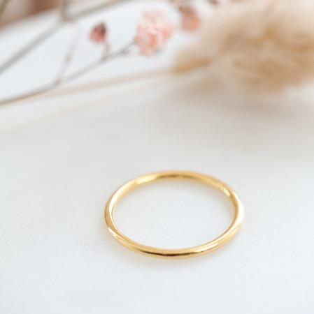 Ring Lea aus 925 Sterlingsilber 18K vergoldet Test