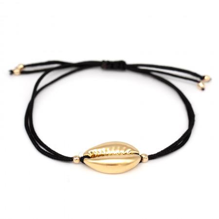 Armband Kauri mit Schiebeverschluss Schwarz Test