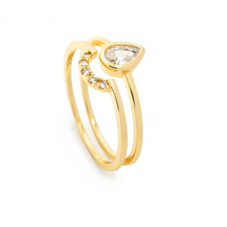 Ring Set Fiona 925 Sterlingsilber 14K vergoldet Test