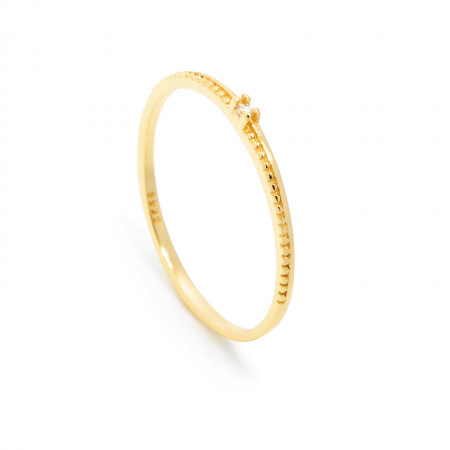 Ring Emilia 925 Sterlingsilber 24K vergoldet Test