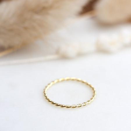 Ring Mira aus 925 Sterlingsilber 14K vergoldet Test