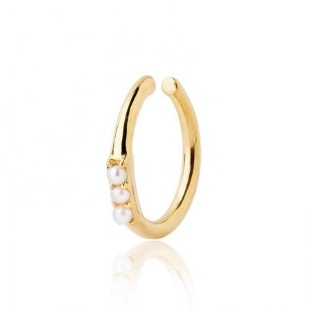 ear cuff mit perlen gold Test