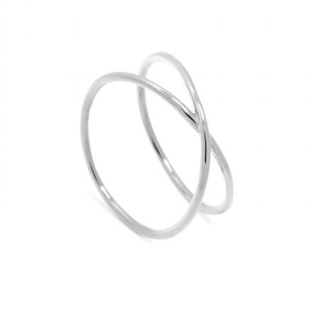 2-Reihiger Ring Melina 925 Sterlingsilber Test