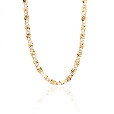 Collier Daisy Slim diamantiert aus 925 Sterlingsilber 18K vergoldet Test