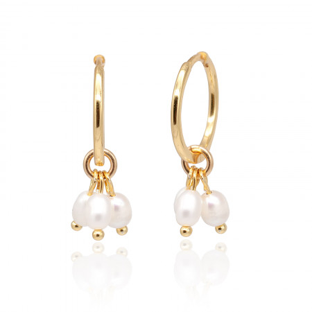 perlencreolen gold kleine perlen Test