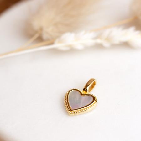 Miracle Stone Collection Perlmutt Love Edition 925 Sterlingsilber 18K vergoldet Test