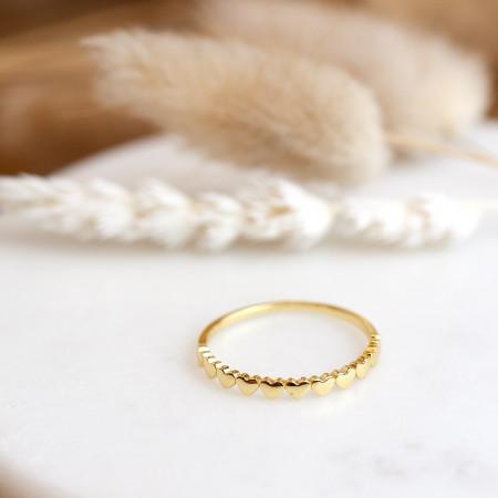 herz ring vergoldet Test