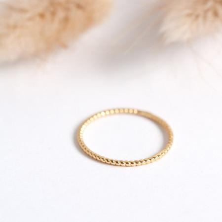 Ring Susanna aus 925 Sterlingsilber 18K vergoldet Test